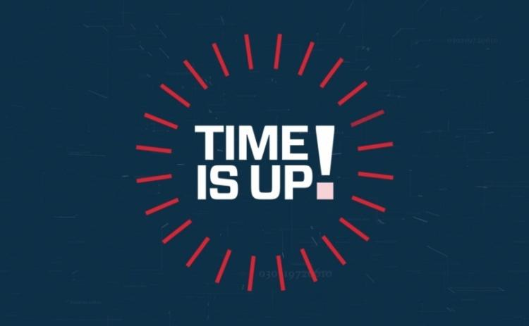 Time is Up logo