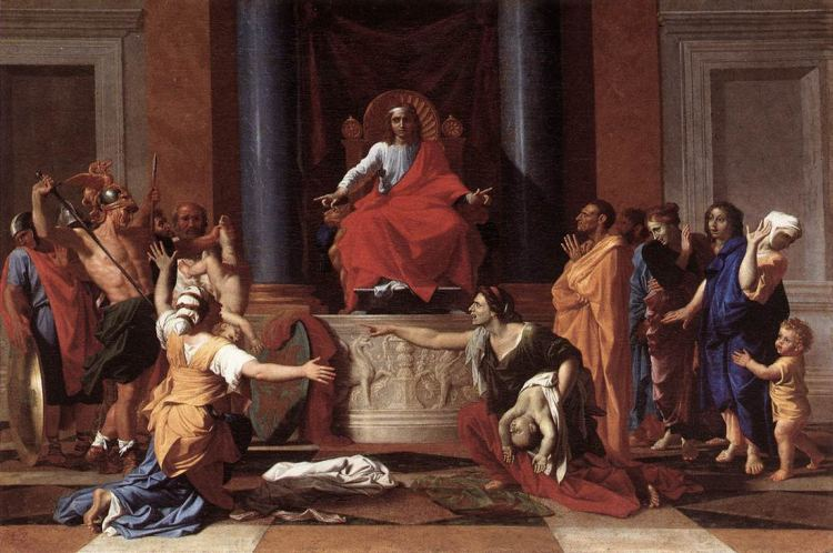 Nicolas Poussin The Judgment of Solomon WGA18330