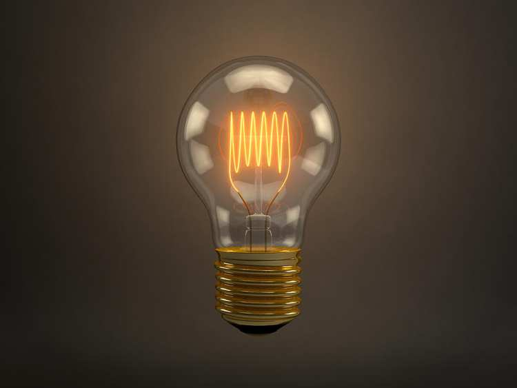 old fashioned light bulb for vintage home ideas